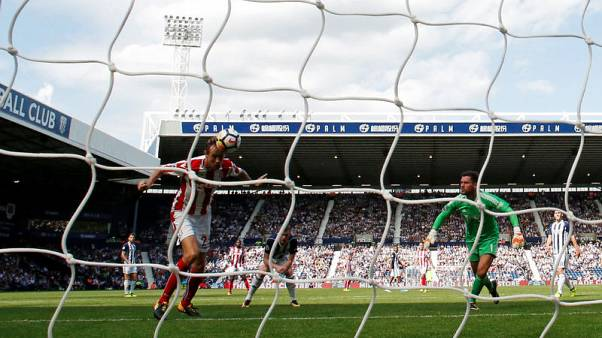 Defensive error costs West Brom victory over Stoke