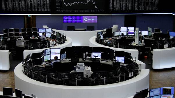 European shares slip as euro surges; Altice outperforms
