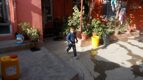 Kabul mosque attack: four-year-old called to safety