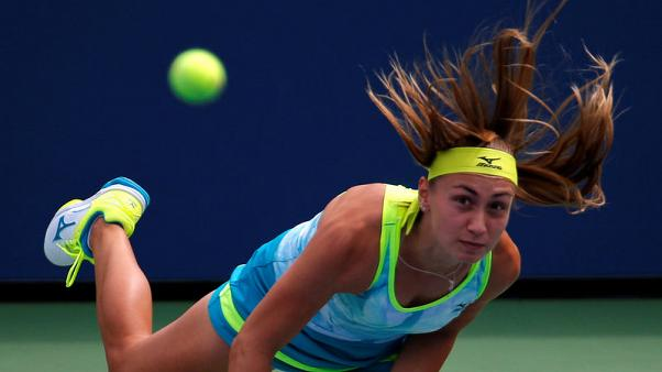 Konta falls as Krunic delivers first U.S. Open shock