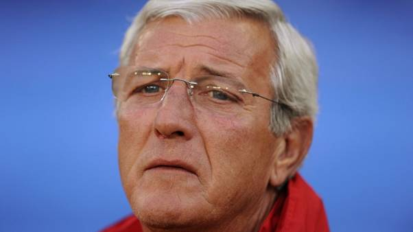 Soccer - Lippi laments lack of Chinese strikers
