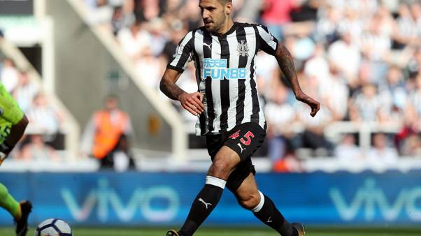 FA charges Newcastle striker Mitrovic over violent conduct