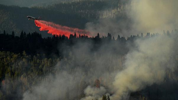 Man arrested for causing wildfire in Northern California