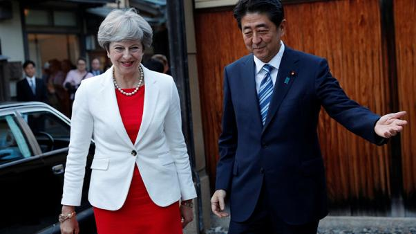 PM Abe: Japan received commitment that Brexit talks will be transparent