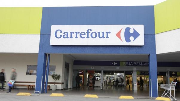 Shares in retailer Carrefour slump after profit warning