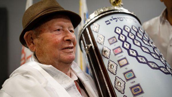 Holocaust survivor celebrates bar mitzvah in Israel, 80 years later