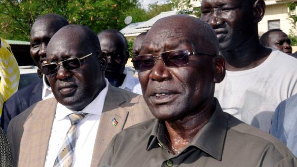South Sudan's sacked army chief 'confined' to Juba home, minister says