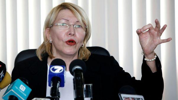 Former Venezuelan prosecutor meets Mexican attorney general