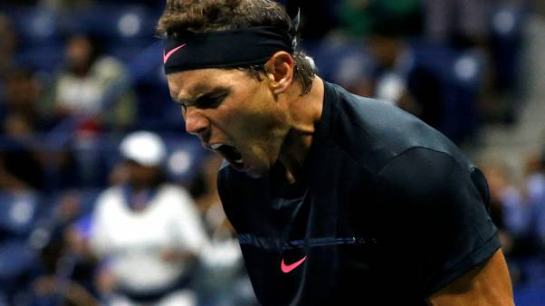 Nadal overpowers Daniel at U.S. Open