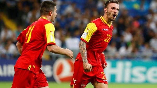 Ruthless Montenegro sink Kazakhstan to boost World Cup hopes