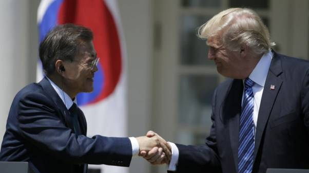 Trump speaks with South Korea's Moon about threat from North Korea - White House