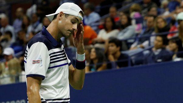 Tennis - I'd rather watch football, says dejected Isner after U.S. Open exit