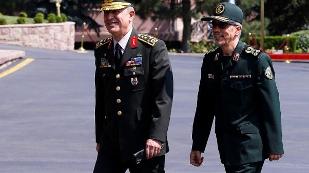 Iran sees little chance of enemy attack - military chief