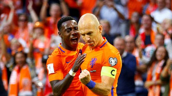 Propper double boosts Dutch World Cup qualifying hopes