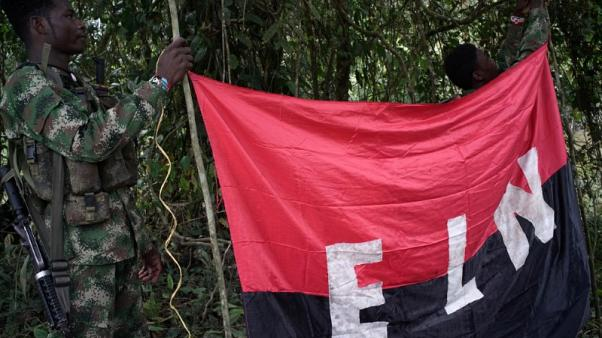 Colombia's ELN rebel group says has agreed bilateral ceasefire with government
