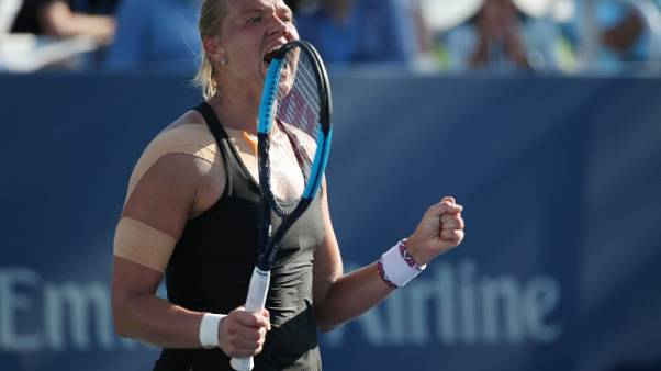 Kanepi still figuring things out back at U.S. Open