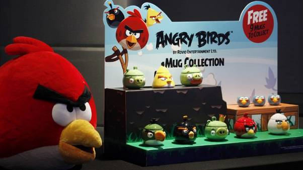 """Angry Birds"" maker Rovio plans to list its shares"