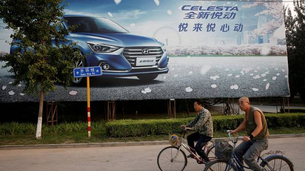 Under pressure, Hyundai clashes with China partner over suppliers - sources