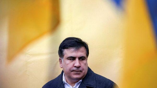 Ex-Georgian leader risks extradition on return to Ukraine