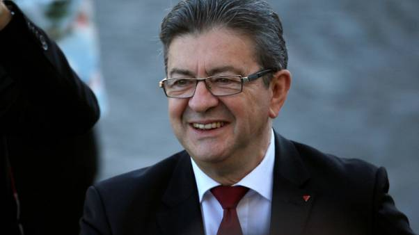 French see far-left's Melenchon as Macron's strongest opponent - poll