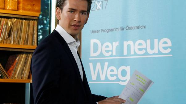 Austria's far-right party accuses conservatives of stealing campaign ideas
