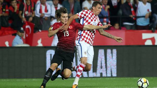 Turkey revive World Cup prospects with 1-0 win over Croatia