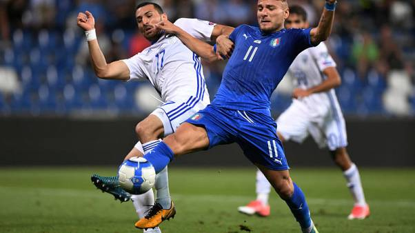 Immobile header gives Italy win after sluggish first half