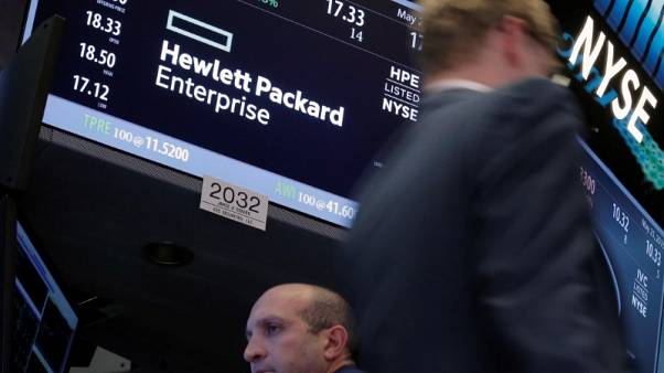 HP Enterprise revenue beats on higher demand for networking devices