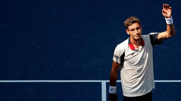 Nadal's shadow no hindrance for Spaniard Carreno Busta
