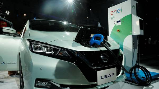 Nissan takes EV battle to Tesla with longer-range Leaf