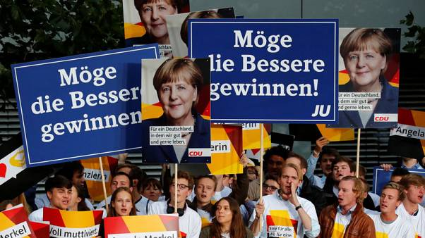 Germans content with national direction ahead of vote - survey