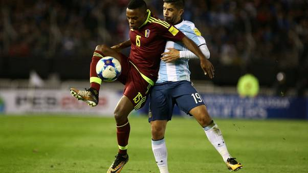 Argentina held by Venezuela at home