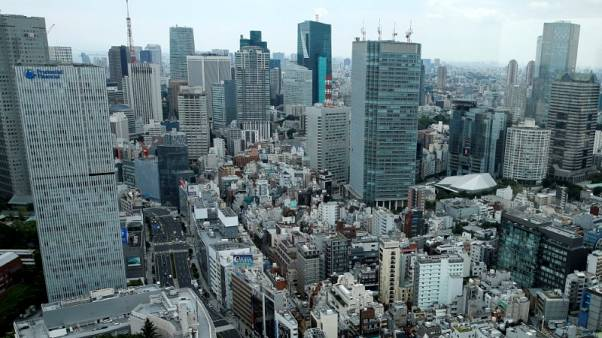 Japan's second quarter GDP seen revised down on smaller capex gains