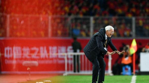 China out of World Cup but Lippi shows the way forward