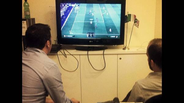 A Marassi Samp-Roma anche in playstation