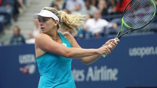 Vandeweghe knocks world number one Pliskova out of U.S. Open