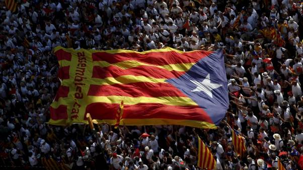 Catalan parliament approves law to call referendum on independence