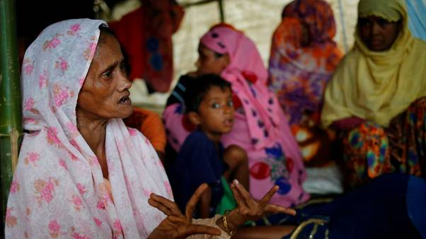 Rohingya say their village is lost to Myanmar's spiralling conflict