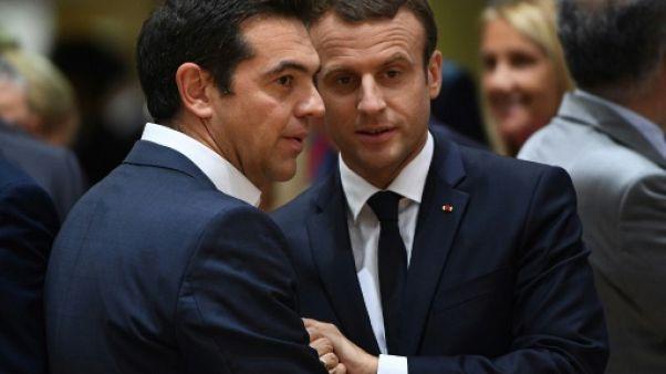 """Macron à Athènes pour lancer la """"refondation"""" démocratique de l'Europe"""