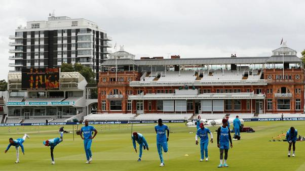 West Indies win toss and bat at Lord's