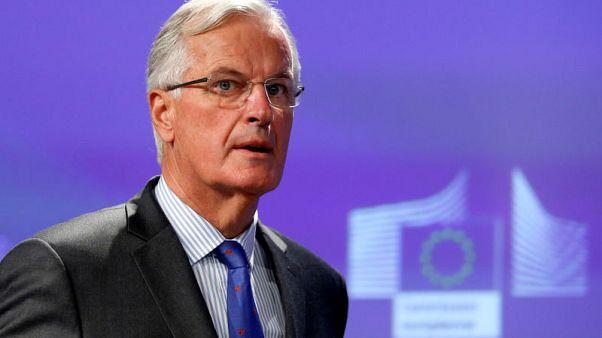 EU's Barnier worried by Britain's position on Irish border
