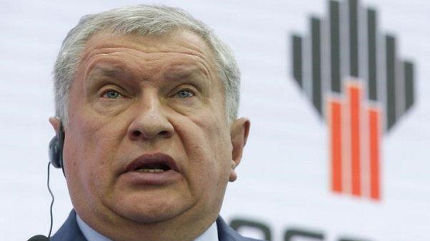 Russia's Sechin: dollar fall drives oil market, not OPEC deal - TASS
