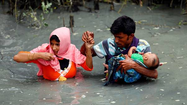 UNHCR says 270,000 Rohingya fled Myanmar in past two weeks