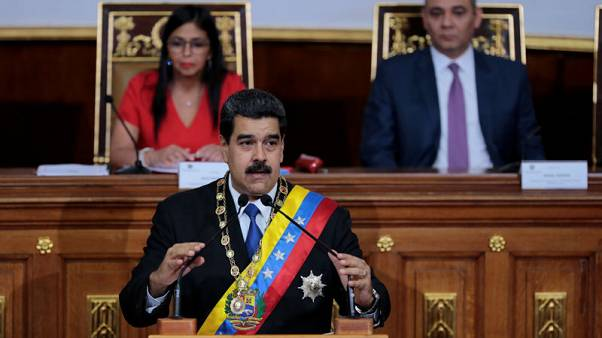 Venezuela's Maduro says will shun U.S. dollar in favour of yuan, others
