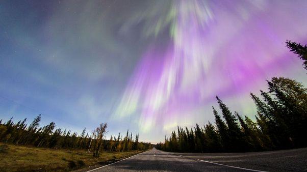 Spectacular Northern Light display illuminates Finnish sky
