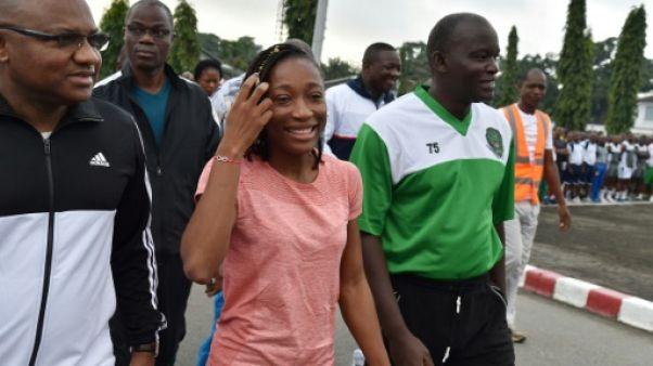 Athlétisme: la vice-championne du monde de sprint ivoirienne Ta-Lou au chevet de l'armée
