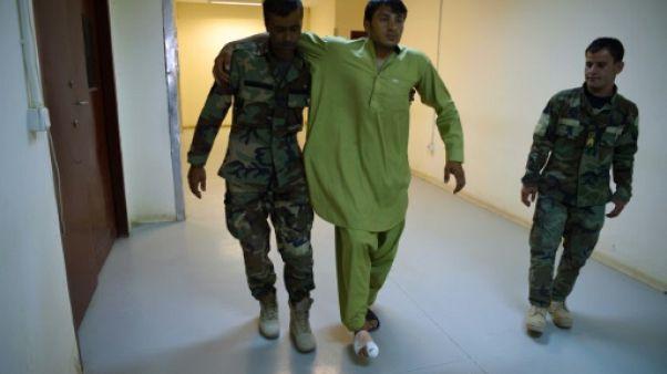 Dans le Helmand, terre de talibans, un hôpital militaire submergé