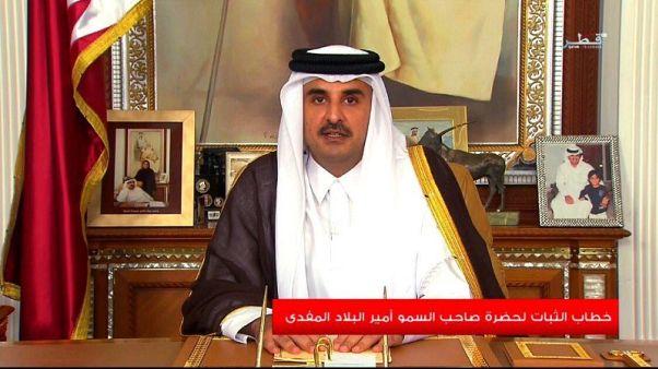 Trump speaks to Qatar emir on Gulf unity, terrorism fight - White House
