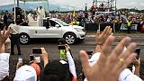 """En Colombie, le pape exige la """"vérité"""" pour les victimes du conflit"""
