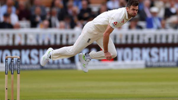 England's Anderson joins 500-wicket club